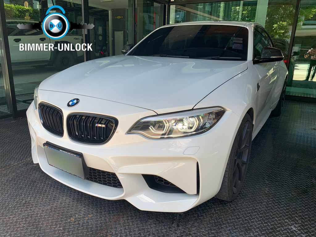 BMW M2 F87 Coding Apple CarPlay and Another Full Option
