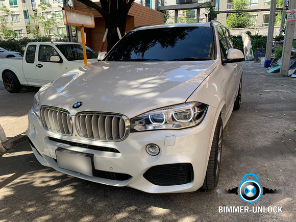 BMW X5 F15 CODING APPLE CARPLAY FULL SCREEN AND MORE