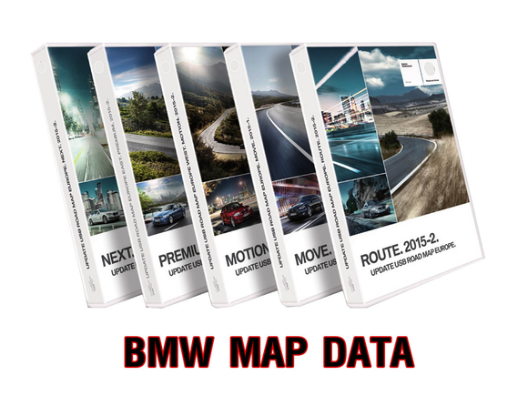 BMW Map Data