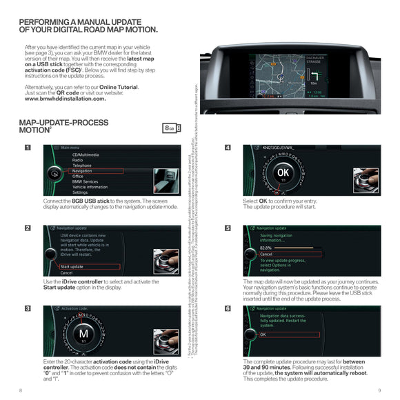 BMW FSC Code Motion Map - bimmer-unlock