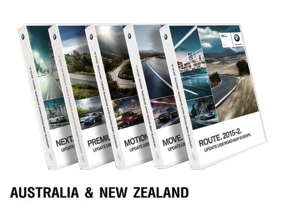 BMW Road Map AUSTRALIA & NEW ZEALAND MOTION 2019 - bimmer-unlock