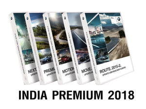 BMW Road Map INDIA PREMIUM 2018 - bimmer-unlock