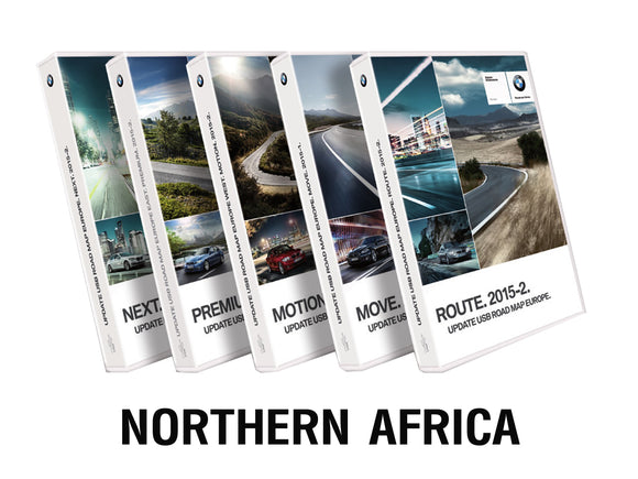 BMW Road Map NORTHERN AFRICA Route 2021 - bimmer-unlock