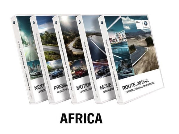BMW Road Map SOUTHERN AFRICA EVO 2020-1 - bimmer-unlock