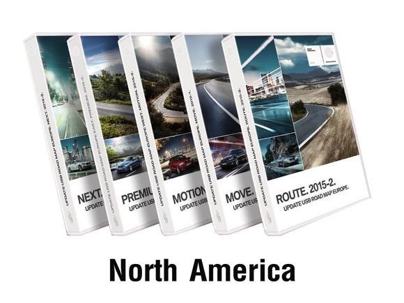 BMW Road Map NORTH AMERICA ROUTE 2021-1 - bimmer-unlock