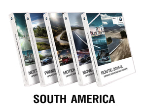 BMW Road Map SOUTH AMERICA ROUTE 2019