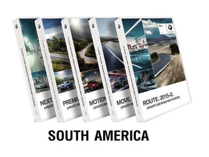 BMW Road Map SOUTH AMERICA EVO 2019-1 - bimmer-unlock