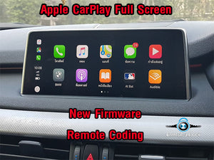 Remote BMW Apple Carplay Full Screen Active For New Firmware