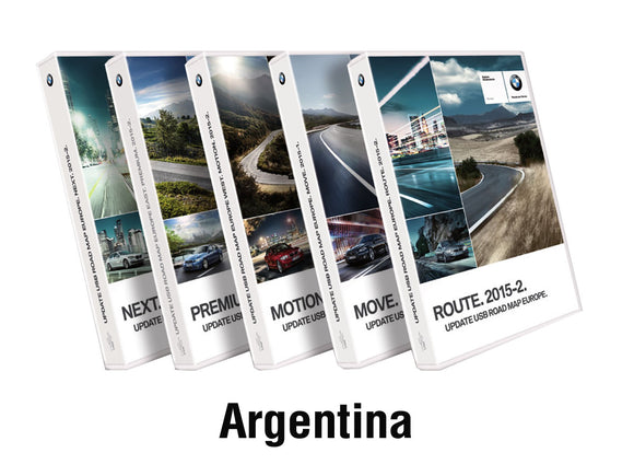 BMW Road Map ARGENTINA LIVE 2018-2 - bimmer-unlock