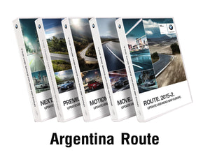 BMW Road Map ARGENTINA ROUTE 2019