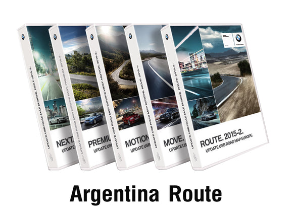 BMW Road Map ARGENTINA ROUTE 2020 - bimmer-unlock