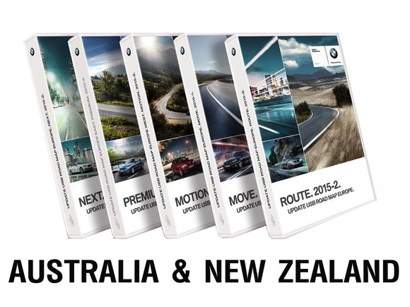 BMW Road Map AUSTRALIA & NEW ZEALAND LIVE 2019-1 - bimmer-unlock
