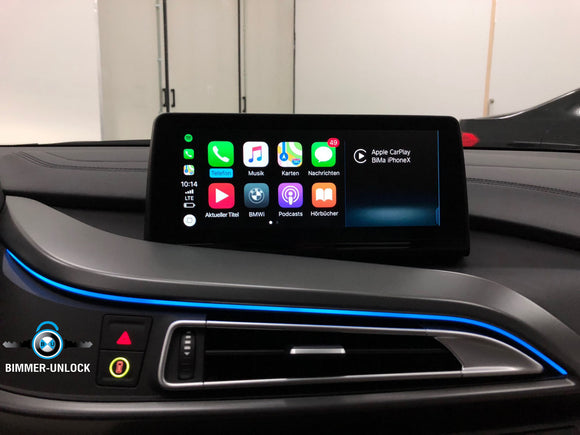 BMW & MINI Apple Carplay + Video in motion Active by USB