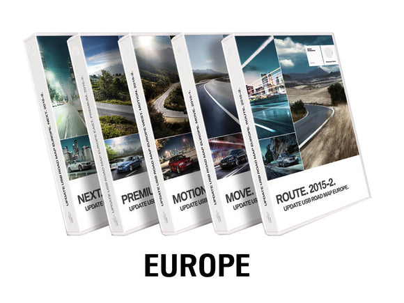 BMW Road Map EUROPE WEST ROUTE 2020-2 - bimmer-unlock