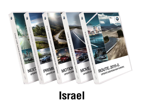 BMW Road Map ISRAEL EVO 2020 - bimmer-unlock