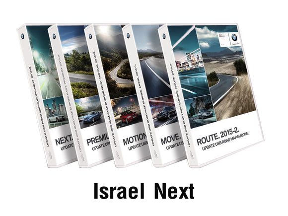 BMW Road Map ISRAEL NEXT 2019 - bimmer-unlock