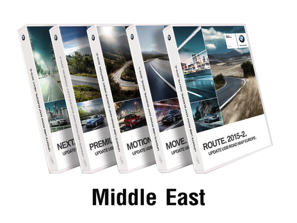 BMW Road Map MIDDLE EAST MOTION 2019 - bimmer-unlock
