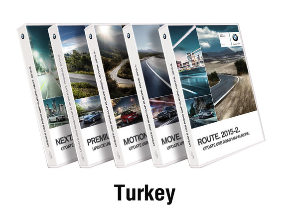 BMW Road Map TURKEY PREMIUM 2021 - bimmer-unlock