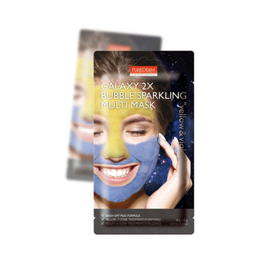 PUREDERM Galaxy 2X Bubble Sparkling Multi Mask
