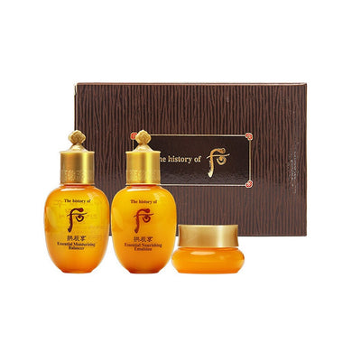 THE HISTORY OF WHOO Gongjinhyang 3pcs Set