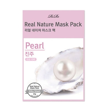 RIRE Real Nature Mask Pearl Pack