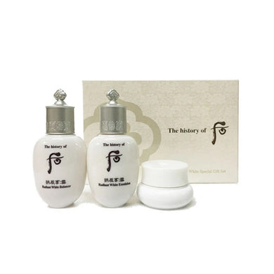 THE HISTORY OF WHOO  Gongjinhyang Seol Radiant White 3pc Set