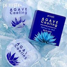 Load image into Gallery viewer, PETITFEE Agave Cooling Hydrogel Eye Mask (60pcs)