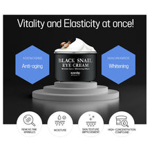Load image into Gallery viewer, EYENLIP Black Snail Eye Cream 50ml