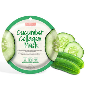 PUREDERM Cucumber Collagen Mask