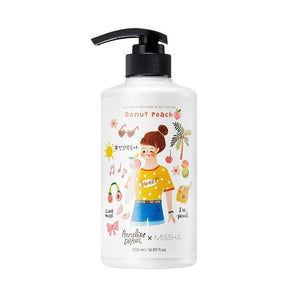 MISSHA All Over Perfumed Body Lotion Donut Peach 500ml