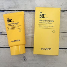 Load image into Gallery viewer, THE SAEM Eco Earth Power Light Sun Cream 50g