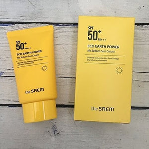 THE SAEM Eco Earth Power Light Sun Cream 50g