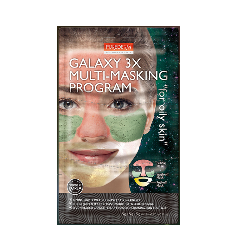 PUREDERM Galaxy 3X Multi-Masking Program