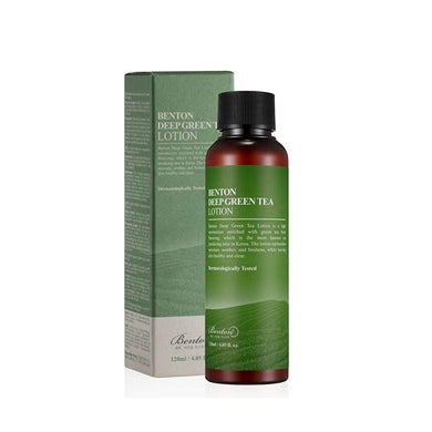 Sample of BENTON Deep Green Tea Lotion