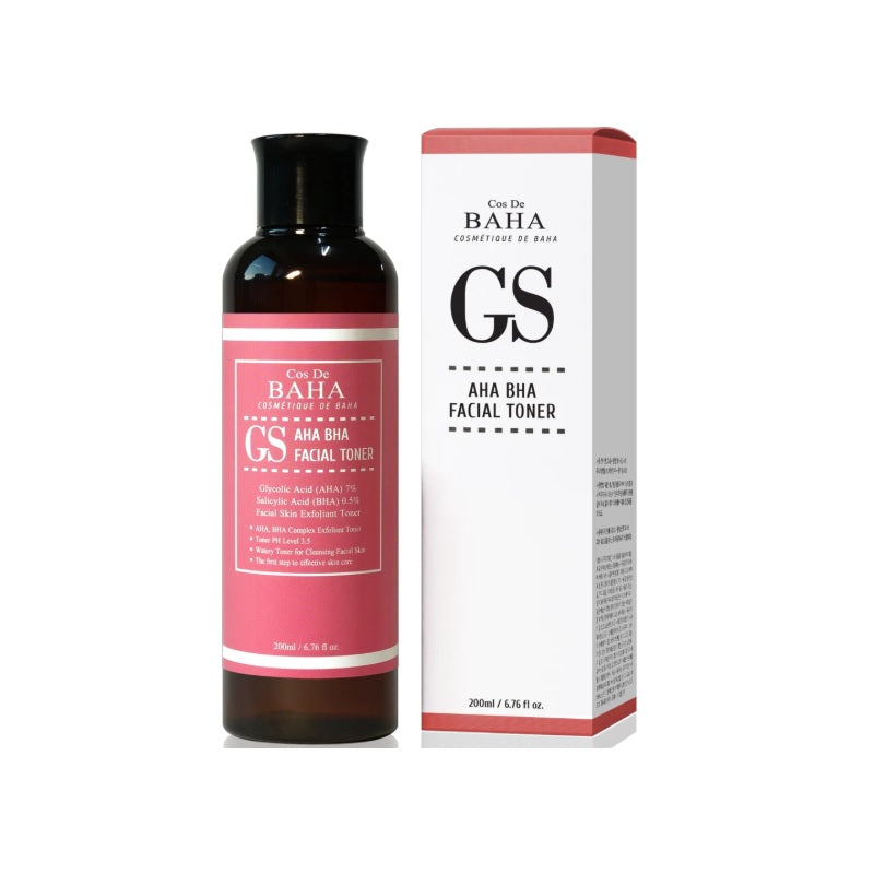 COS DE BAHA (GS) AHA/BHA Clarifying Toner 200ml