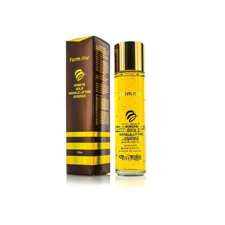 FARM STAY Honey & Gold Wrinkle Lifting Essence 150ml