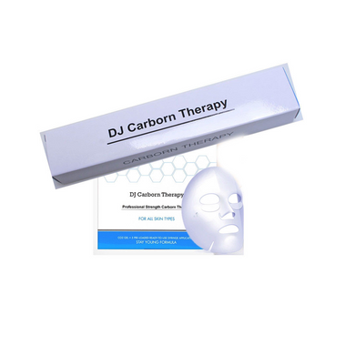 DJ CARBORN THERAPY CO2 Gel Mask Set (1 mask & 1 syringe)