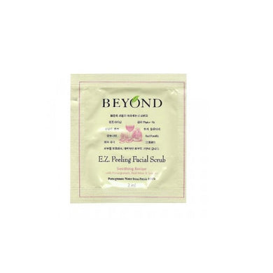 Sample of BEYOND E.Z. Peeling Facial Scrub