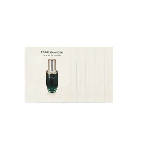 O HUI Prime Advancer Ampoule Serum Sample 5pcs