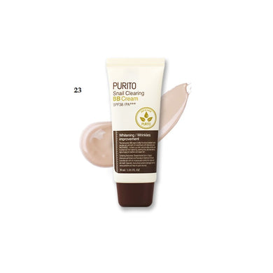 Sample of PURITO Snail Clearing BB Cream Color 23