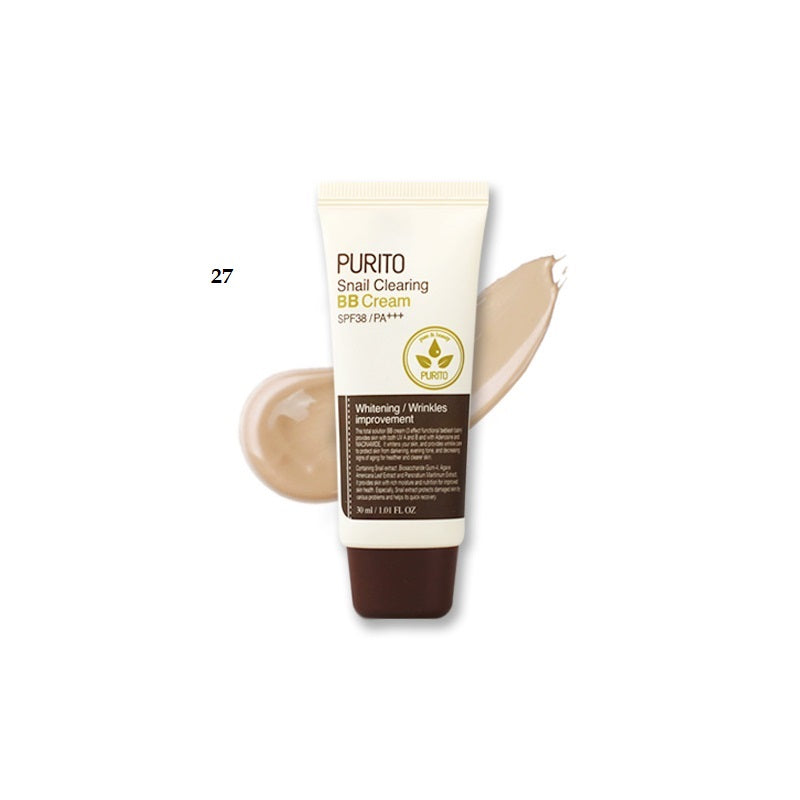Sample of PURITO Snail Clearing BB Cream Color 27