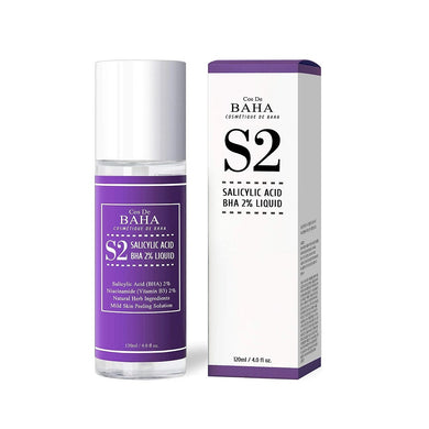 COS DE BAHA (S2) BHA Salicylic Acid 2% Exfoliant Liquid 120ml