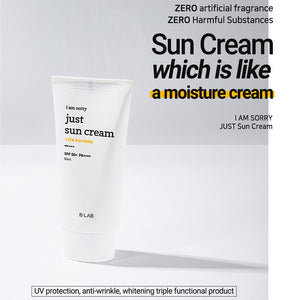 B-LAB I Am Sorry Just Sun Cream 50ml