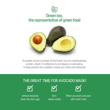 Load image into Gallery viewer, EYENLIP Super Food Avocado Mask