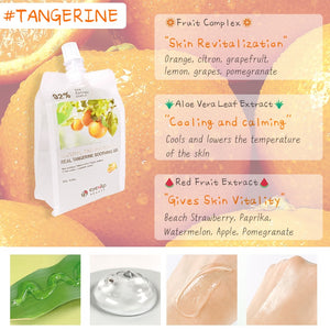 EYENLIP 92% Real Tangerine Soothing Gel 300g