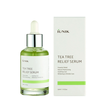 Sample of iUNIK Tea Tree Relief Serum
