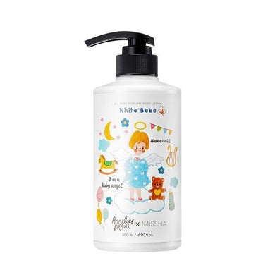 MISSHA All Over Perfumed Body Lotion White Bebe 500ml