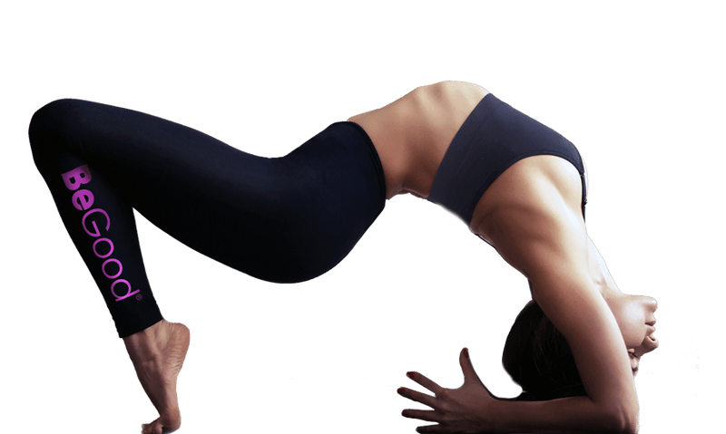 Yoga woman wearing begood sports legging