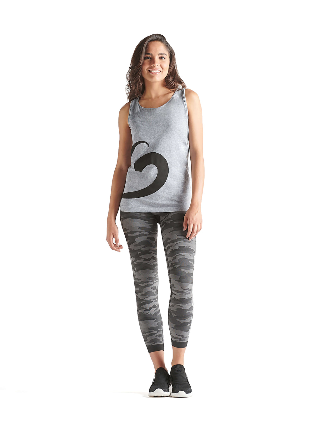 New! BeFit Keep It Moving Sport Leggings Camouflage