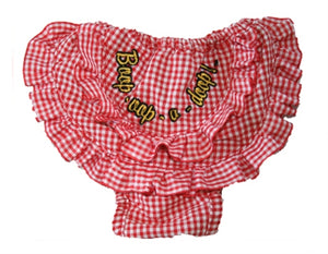 Betty Boop Red Check Pants - Betty Boop Dog Clothes